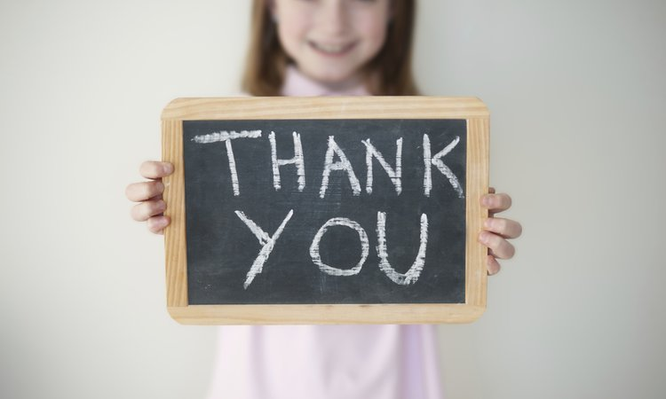 "Teaching Your Kids To Say ""thank You"""