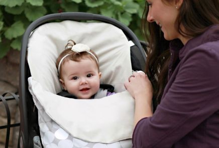 Q A Is A Car Seat Insert Safe For Your Baby When Driving Judy