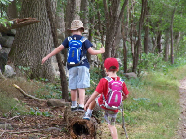 Hiking With Preschoolers
