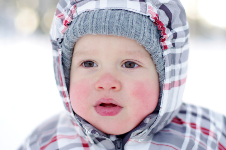 Winter-baby-safety